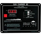 Blue Sky SC30 PWM charge controller with LVD and l