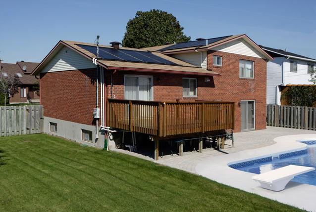 Technosolis c15ts12 chauffe piscine solaire capteur for Chauffe piscine solaire prix