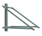 "Solartech side of pole mount with 53"" rails, fits"