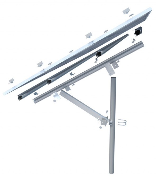 Opsun SunGround mounting system for 12x 60 cells m
