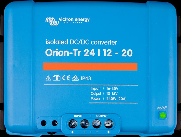 Orion-Tr 24/48-8.5 (400W), Victron Orion voltage c