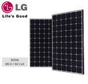 LG 300W monocrystalline solar panel. 60 cells DVE,