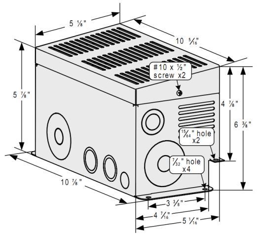 Magnum Energy ME-CB Inverter Distribution panel