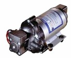 120VAC SHURflo pump, 3.3GPM, 45 PSI demand switch,