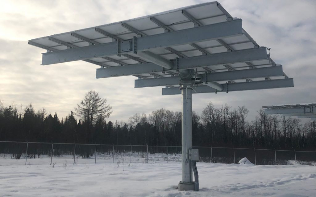 Commissioning of a more than 600kW solar energy research facility (Université de Sherbrooke)